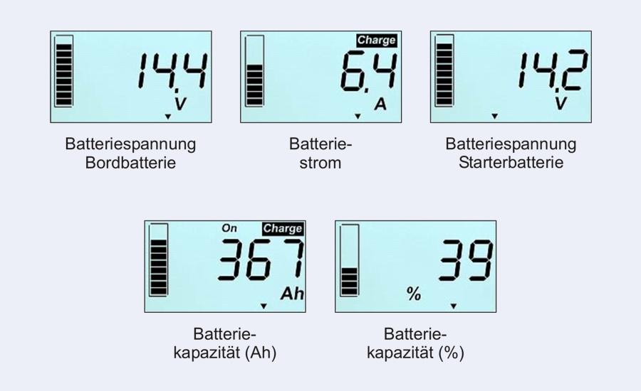 Votronic lcd batterie computer s